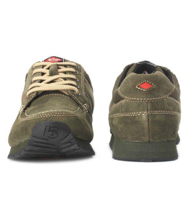 2abc4642af8 Lee Cooper Sports Olive Green Running Shoes - Buy Lee Cooper Sports ...