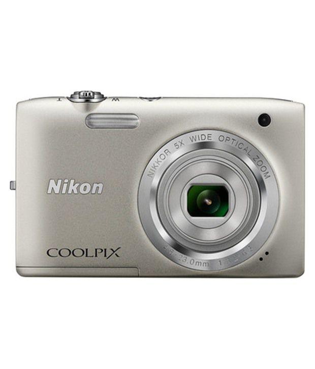 nikon coolpix s2800 20.1 megapixels digital camera - black