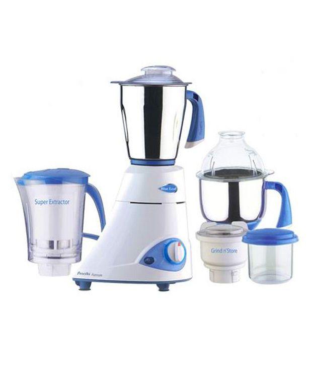 Ordinary Preethi Kitchen Appliances Part - 9: Preethi Blue Leaf Platinum MG 139 750-Watt Mixer Grinder