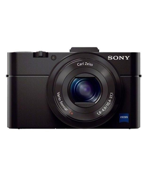 sony cyber-shot rx100 iii 20.1 megapixels digital camera - black (kit w/ t...