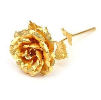 Valentine Special Rose in 24karat gold - 16 cm