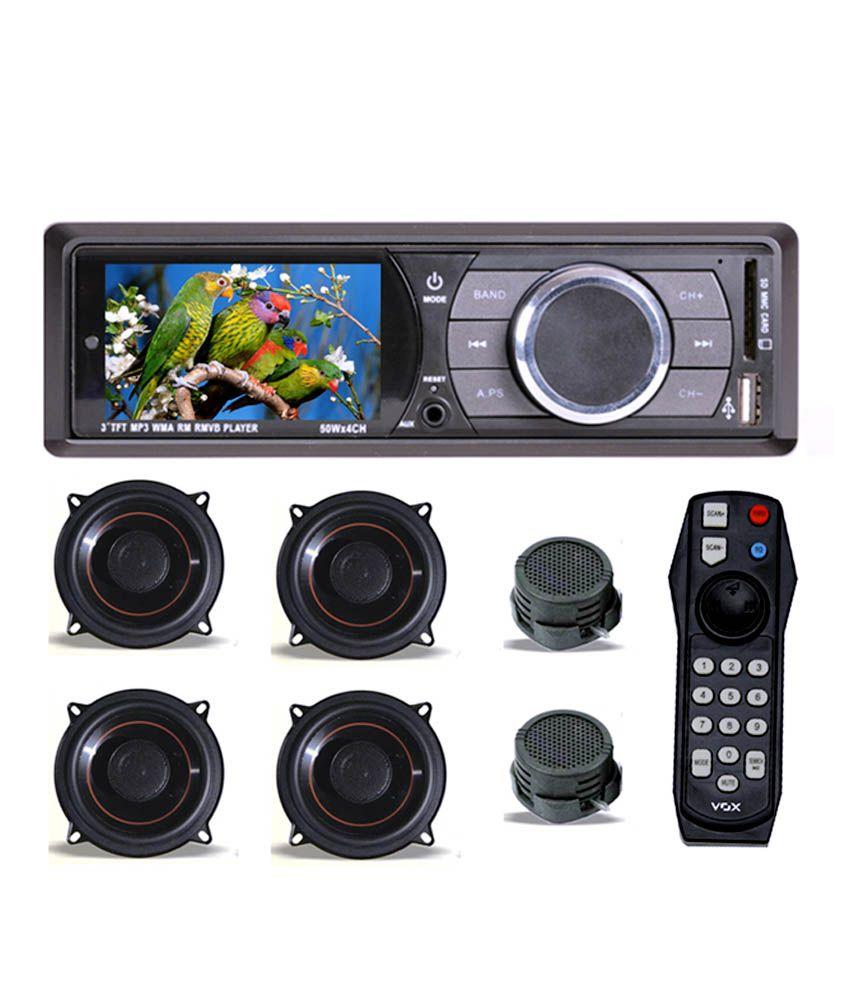 Vox Car Stereo Mp5 Player 4 Speaker 2 Tweeters Buy
