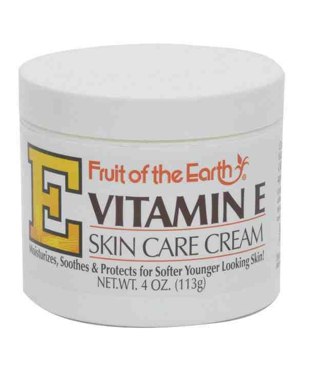 Skin Care Cream: Fruit Of The Earth Vitamin E Skin Care Cream 113gms: Buy