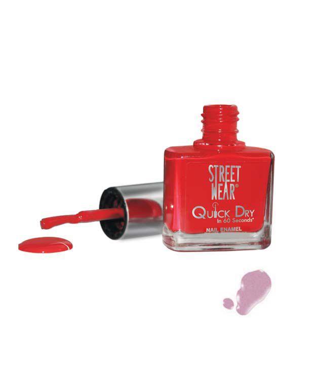 Street Wear Quick Dry Nail Enamel VIOLET DREAMS  9ML