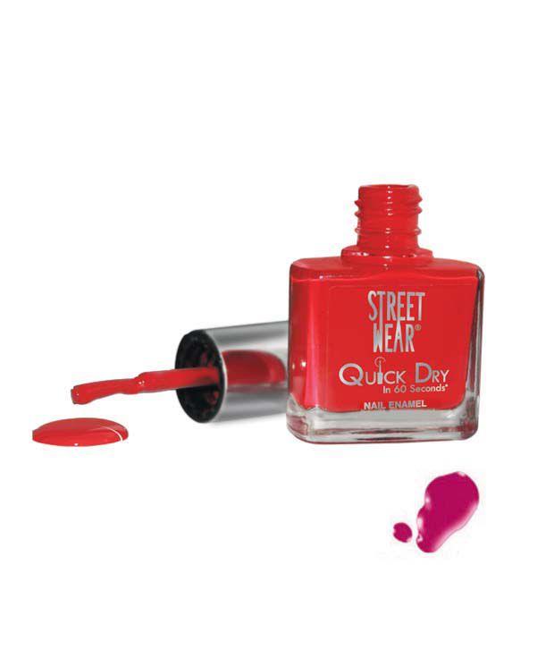Street Wear Quick Dry Nail Enamel MYSTIQUE MAGENTA  9ML