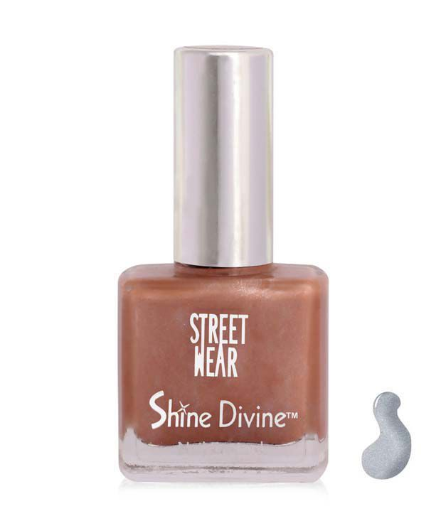 Street Wear Shine Divine Nail Enamel SILVER DIVINE  9ML