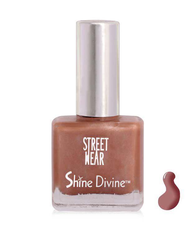 Street Wear Shine Divine Nail Enamel PEACH DIVINE  9ML