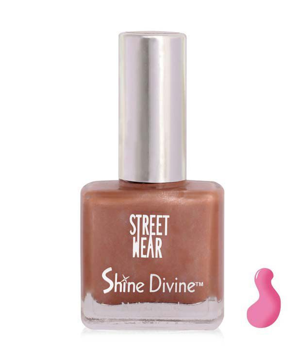 Street Wear Shine Divine Nail Enamel LOTUS DIVINE  9ML
