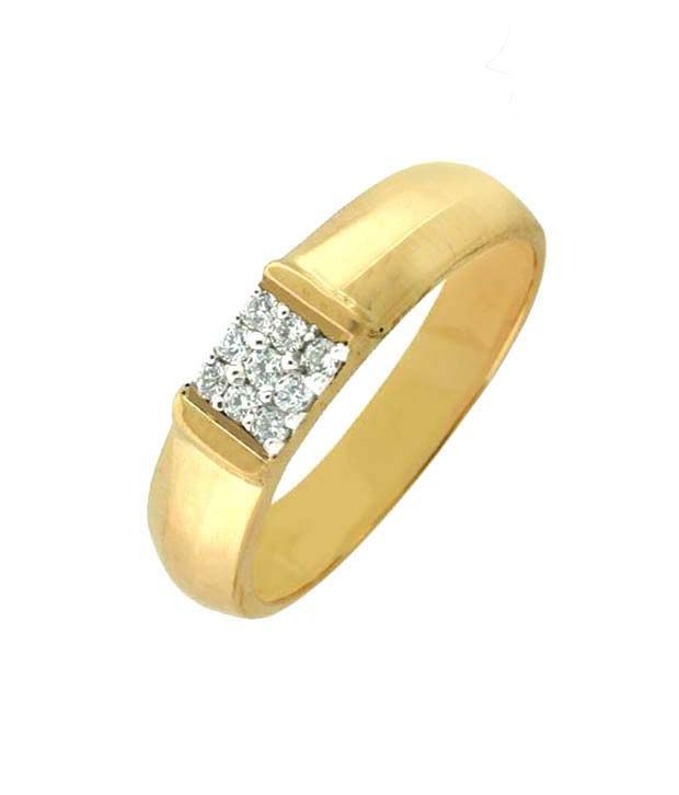 001db82fe04649 Unique Solitaire Nine Diamonds Men's Ring: Buy Unique Solitaire Nine Diamonds  Men's Ring Online in India on Snapdeal