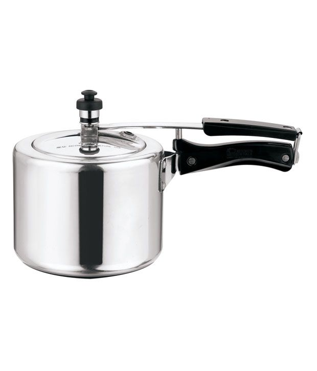 Kitchen Essentials Aluminium Pressure Cooker - 3 Litre (Inner Lid)