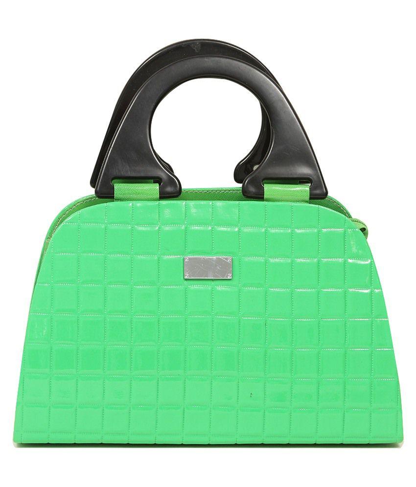 Miss Sunshine Roselle Hand Bag - Green