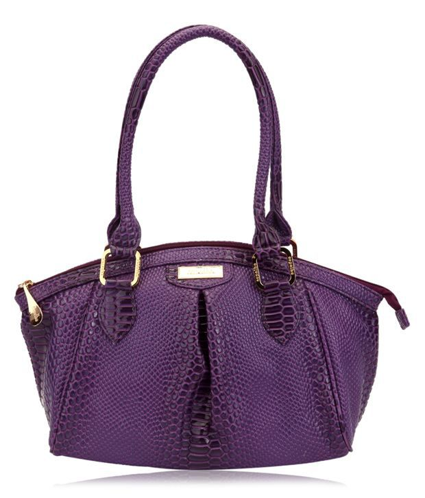 Espelho BA-585 Purple Shoulder Bag