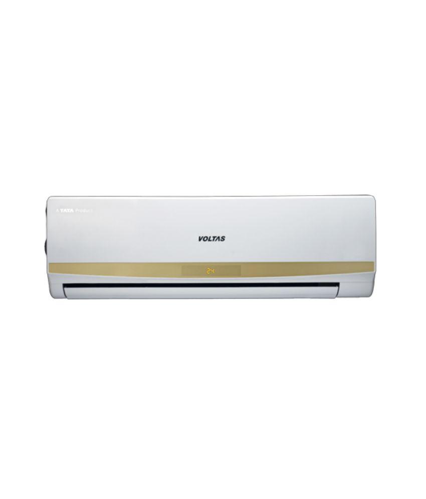 5 Ton Air Conditioners Voltas 1.5 Ton 3 Star 183 CYa Split Air Conditioner white ...