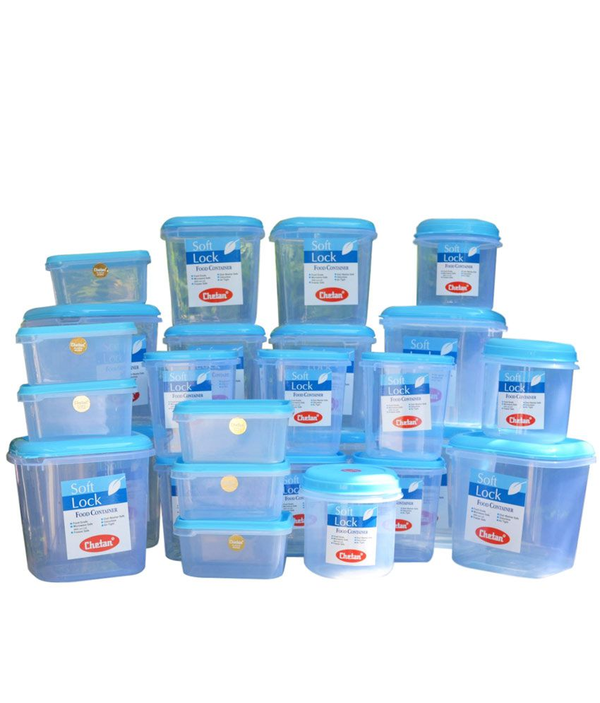 plastic storage boxes for kitchen chetan plastic kitchen storage containers airtight 27 pc 7505
