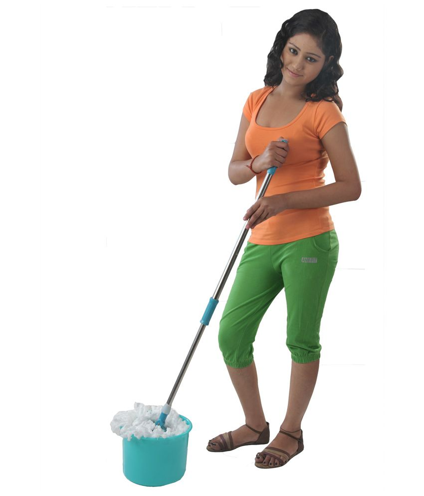 Kawachi Blue Floor Cleaning Mop Buy Online Low Price Snapdeal