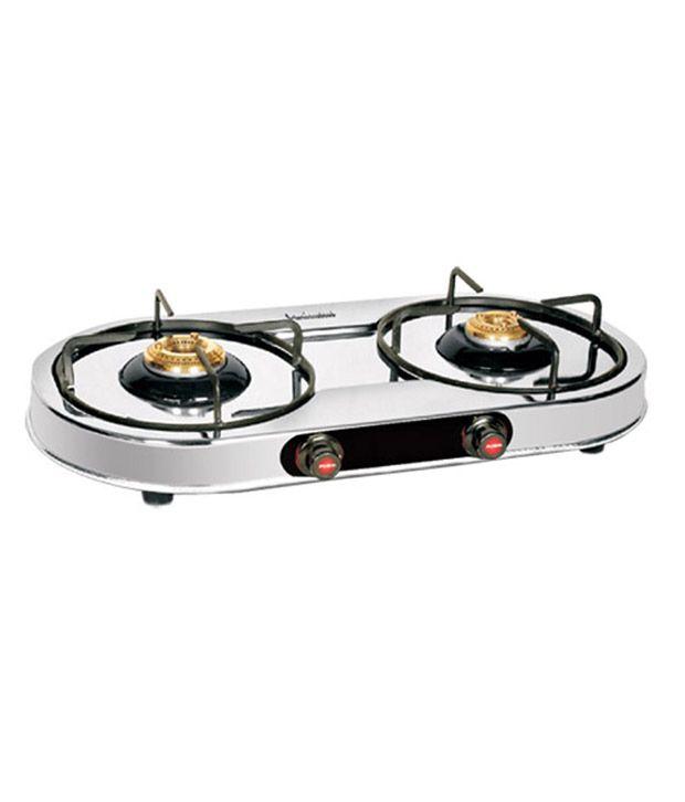 Padmini CS-210 Manual Gas Cooktop (2 Burner)