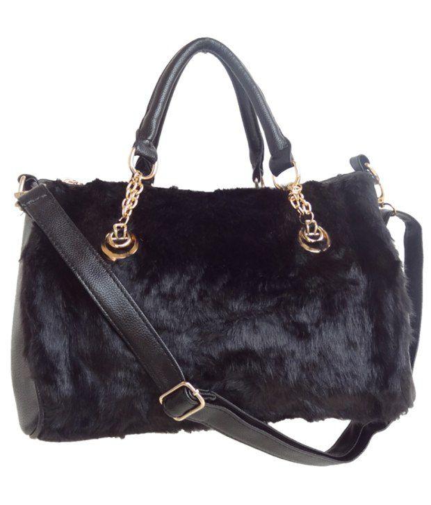 Hi Look HBG-158 Black Satchel Bags