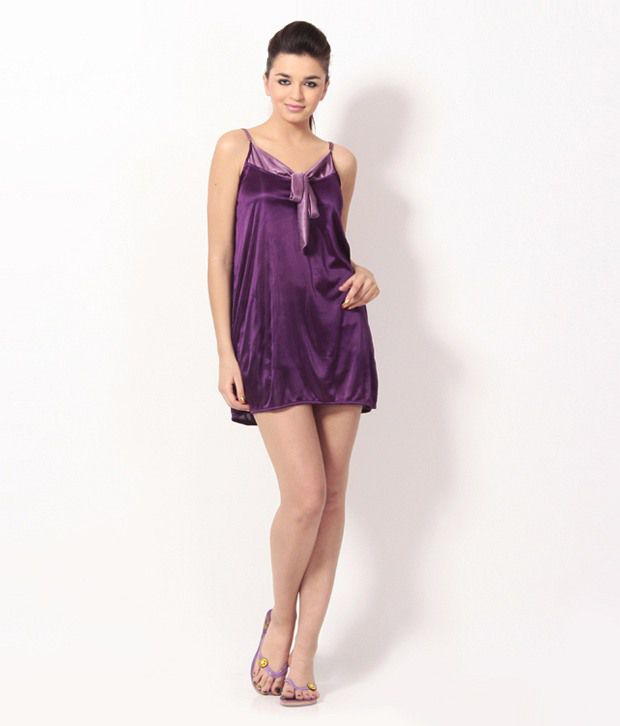 d23fcce2fc Buy Klamotten Satin Nighty & Night Gowns Online at Best Prices in India -  Snapdeal