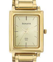 Sonata 7078YM02 Men's Watch