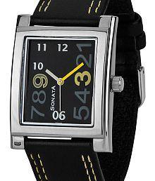 Sonata Yuva ND7925SL06 Men's Watch