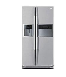 Videocon 604 Ltr VPL60ZPS Side by Side Refrigerator Platinum Silver