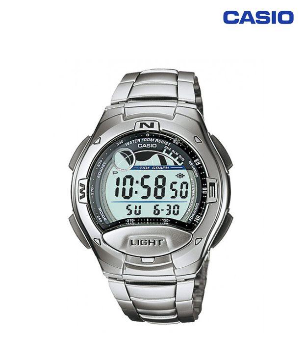 casio i067 trendy silver digital buy casio