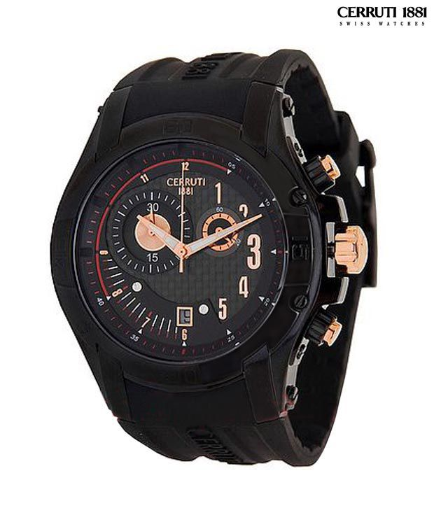 2f997939ccd Cerruti Exotic Chrono Watch - Buy Cerruti Exotic Chrono Watch Online at  Best Prices in India on Snapdeal
