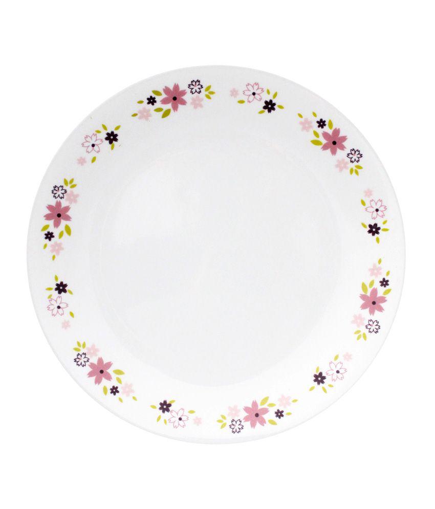 Corelle 6 Pcs Dinner Plates-Livingware Floral Fantasy  sc 1 st  Snapdeal & Corelle 6 Pcs Dinner Plates-Livingware Floral Fantasy: Buy Online at ...