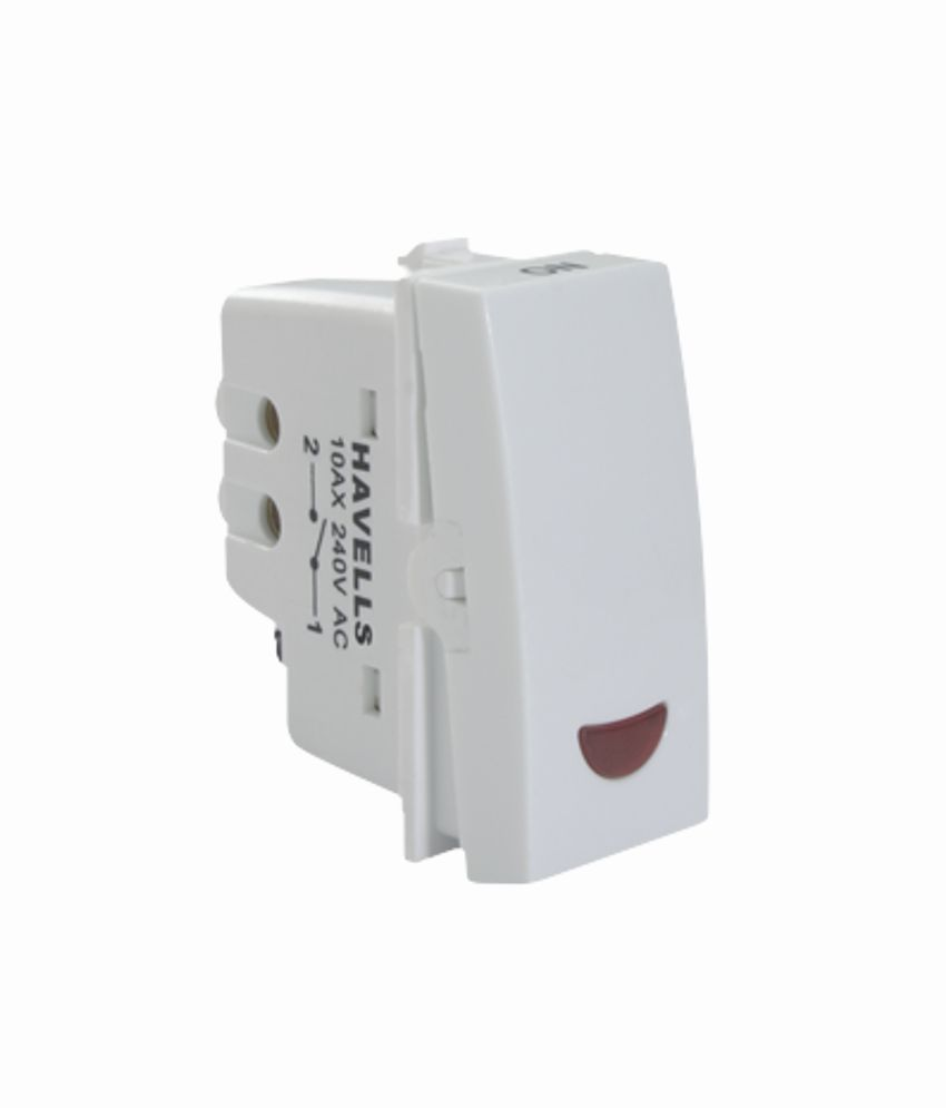 Buy Havells Pearlz 16 Ax 1 Way Switch With Ind Online At