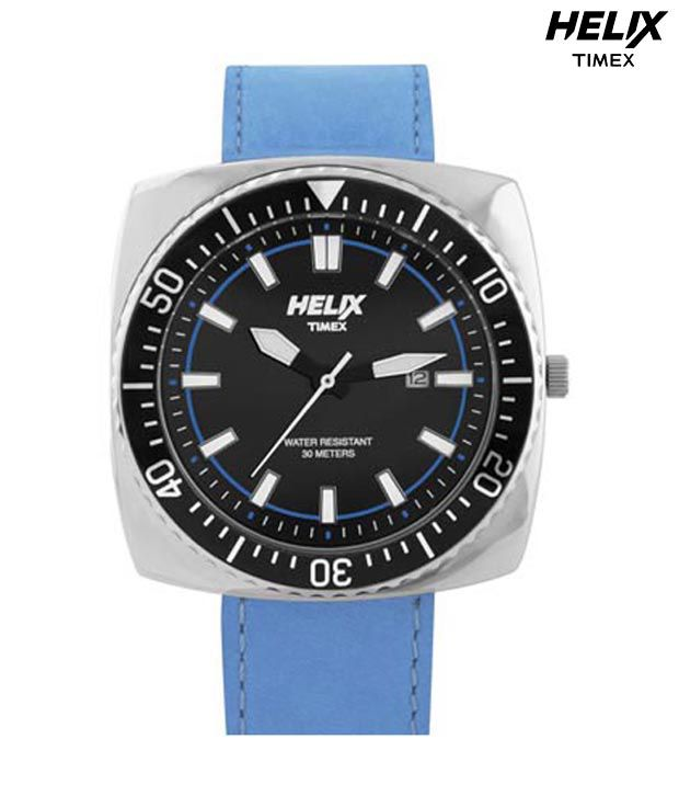 Helix By Timex Helix Ritzy Black Dial Watch