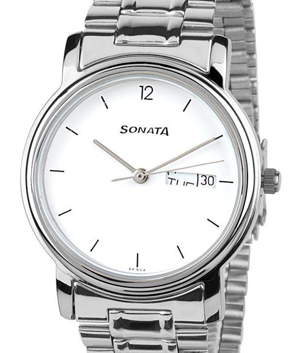 sonata 1013sm06 mens watch buy sonata 1013sm06 mens