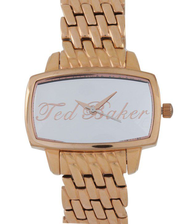 3fae103f7 Ted Baker Gold Women Analog - Wrist Watches Price in India  Buy Ted Baker  Gold Women Analog - Wrist Watches Online at Snapdeal