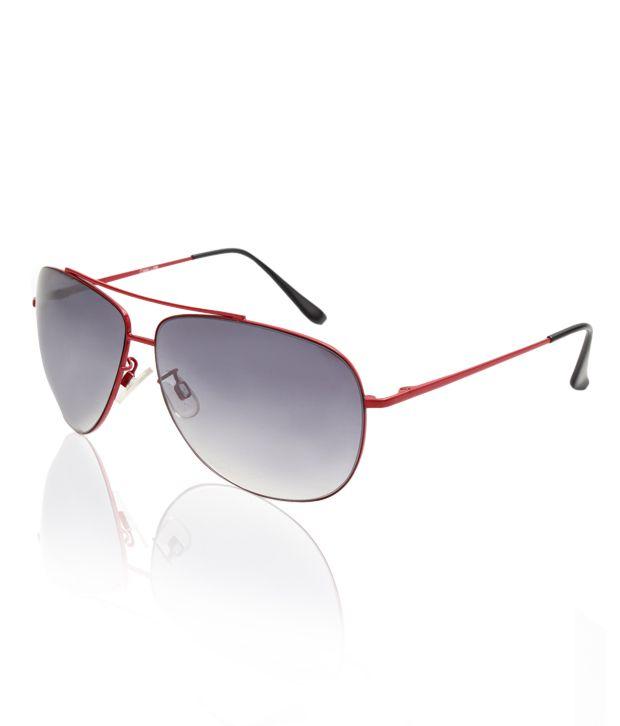 Color Line Red & Mauve Aviator