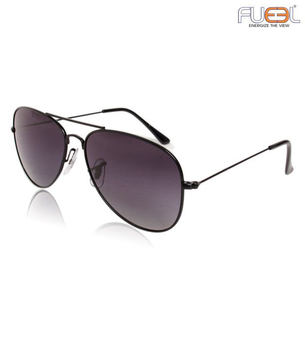 Fueel Enthralling Purple Aviator Sunglasses