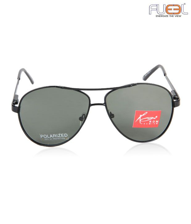 Fueel Luxurious Black Frame Sunglasses