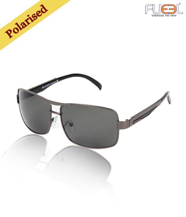 Fueel Shiny Gun Frame Sunglasses
