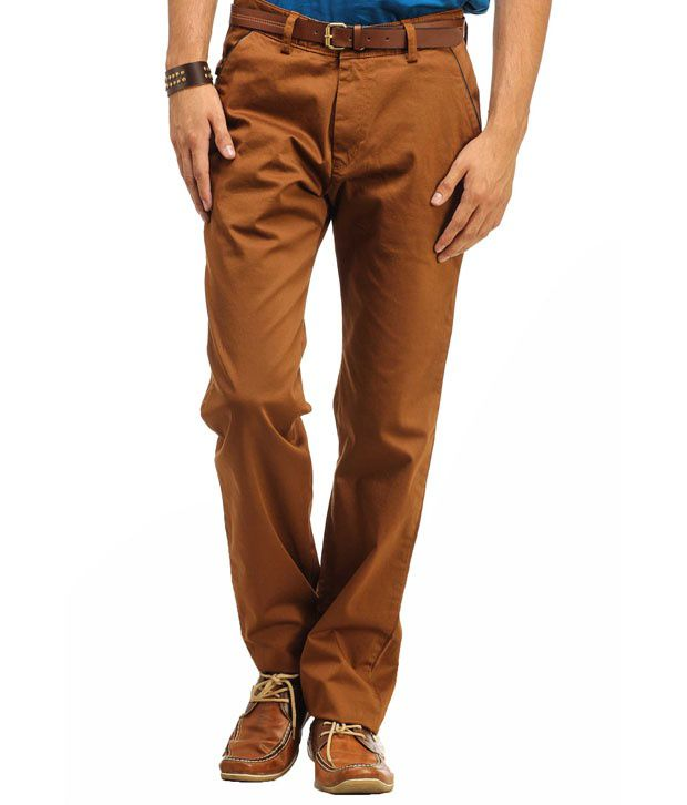 Gesture Brown Regular Casuals Flat