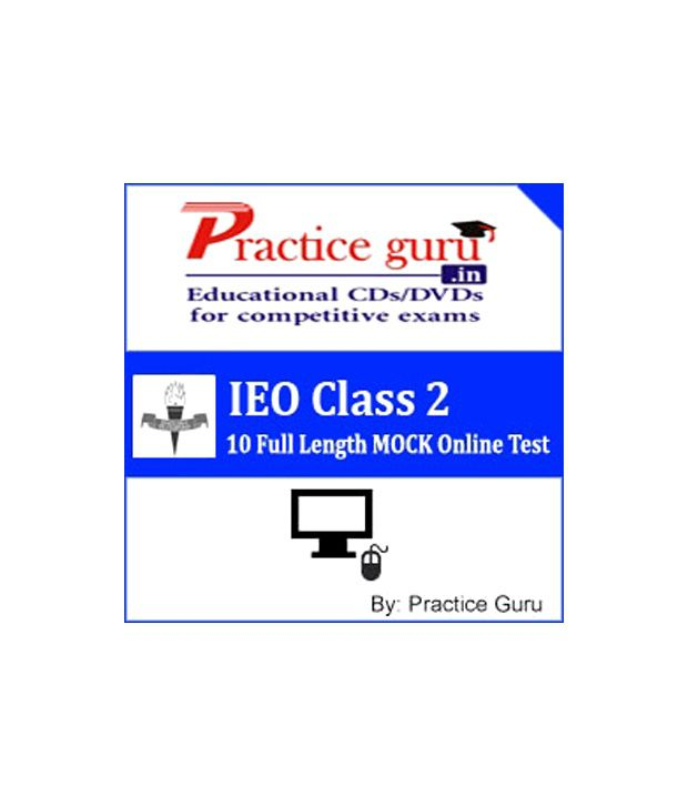 IEO Class 2 (Practice Guru Online Test Prep - 10 Full Length MOCK Online Test on Latest Pattern & Syllabus for IEO.)