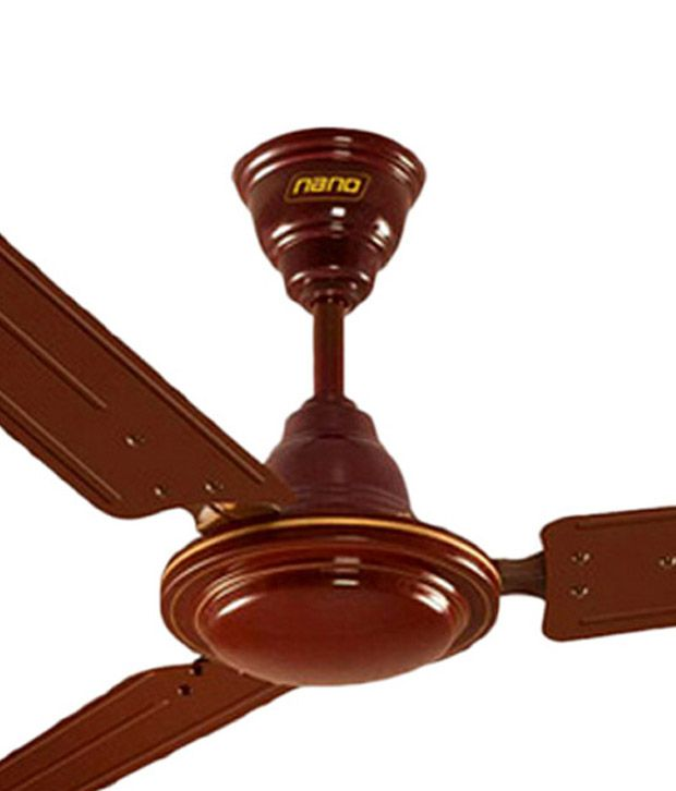 Khaitan 48 inch nano ceiling fan price in india buy for Wooden ceiling cost india