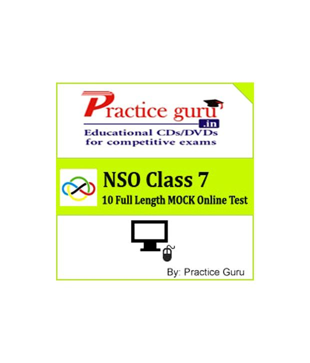 NSO Class 7 (Practice Guru Online Test Prep - 10 Full Length MOCK Online  Test on Latest Pattern & Syllabus for NSO )
