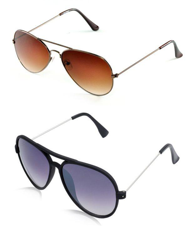 1467611fd7 Davidson DN-BROWN-YUVA Unisex Sunglasses - Buy 1 Get 1 Free - Buy Davidson  DN-BROWN-YUVA Unisex Sunglasses - Buy 1 Get 1 Free Online at Low Price -  Snapdeal