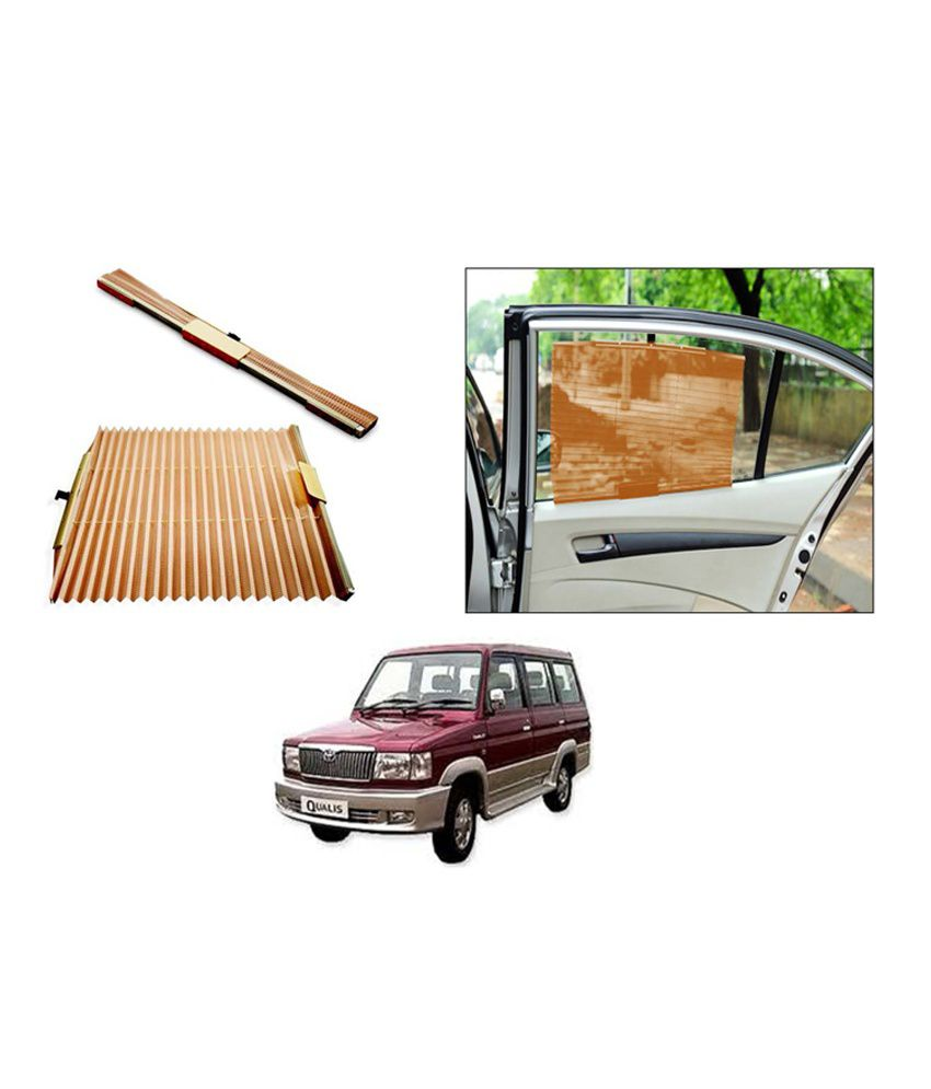 flomaster car sun shades uv protection autofolding curtains maruti 800 beige buy flomaster. Black Bedroom Furniture Sets. Home Design Ideas
