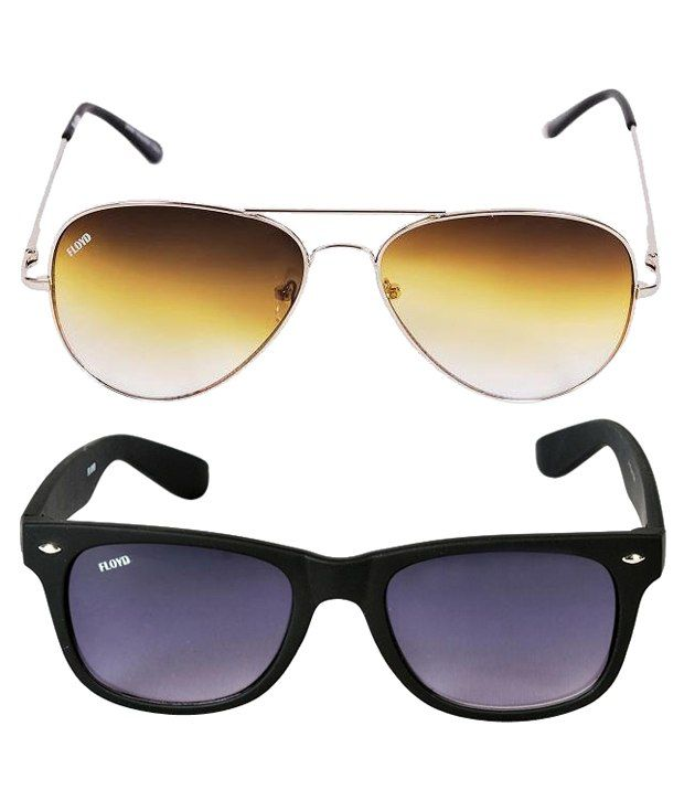c86992bcc9d51 Floyd 2858-SIL-OLIVE-8501-MAT-BLK Aviator Sunglasses Combo - Buy Floyd  2858-SIL-OLIVE-8501-MAT-BLK Aviator Sunglasses Combo Online at Low Price -  Snapdeal