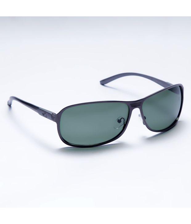 Flying Machine Grey Unisex Rectangle - Sunglasses