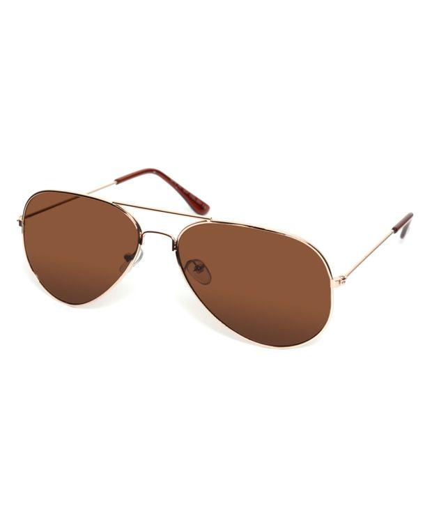 MTV Brown Aviator Sunglasses