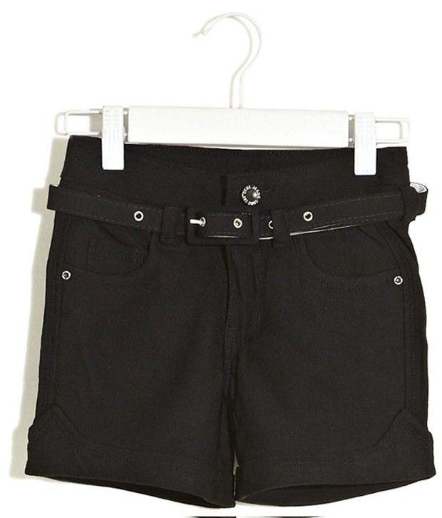 Deal Jeans Kids Black Shorts For Boys