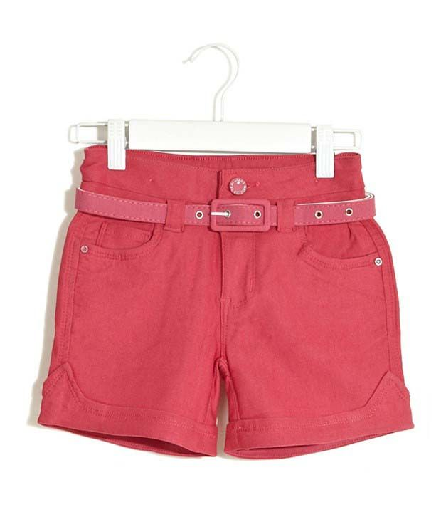 Deal Jeans Kids Pink Shorts For Boys