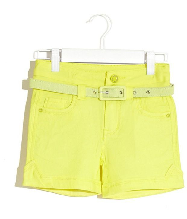 Deal Jeans Kids Yellow Shorts For Boys
