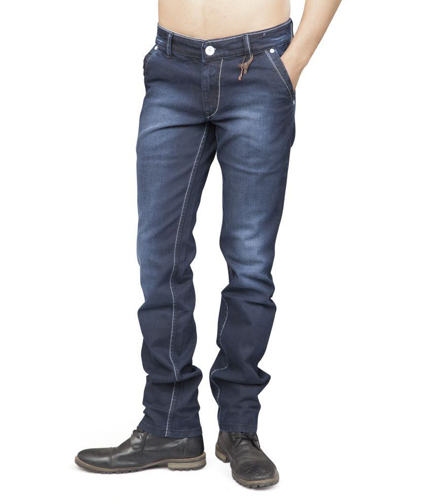 Fumere Blue Slim Fit Jeans