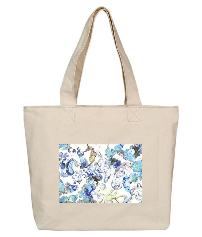OXA SDH151 Beige Tote Bags